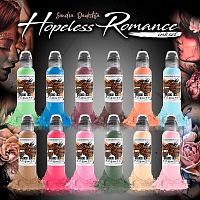 Краска для тату SANDRA DAUKSHTA HOPELESS ROMANCE INK SET